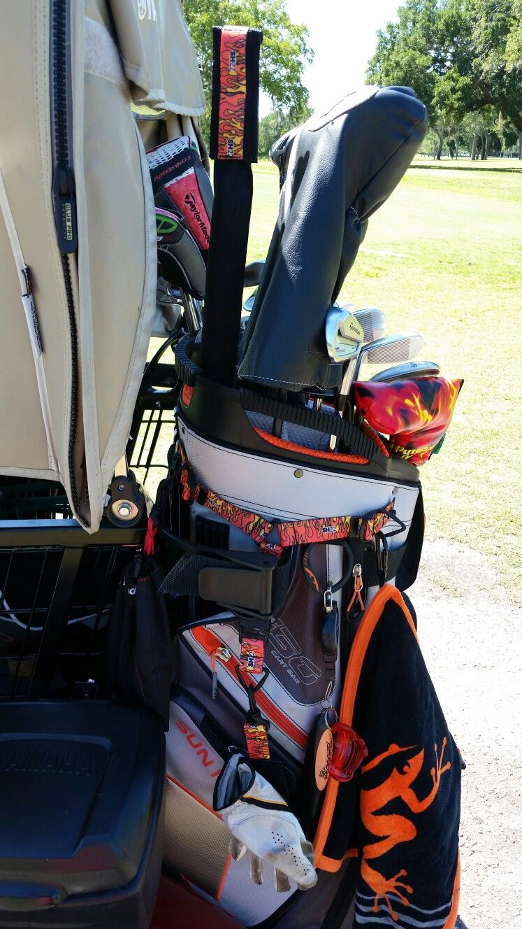 It is... My Bag Baby. snaphookzgolf.com #addsomeswagtoyourbag