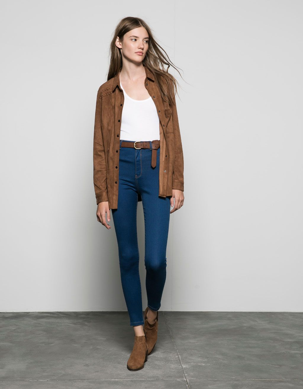 Outfit Jeans high waist