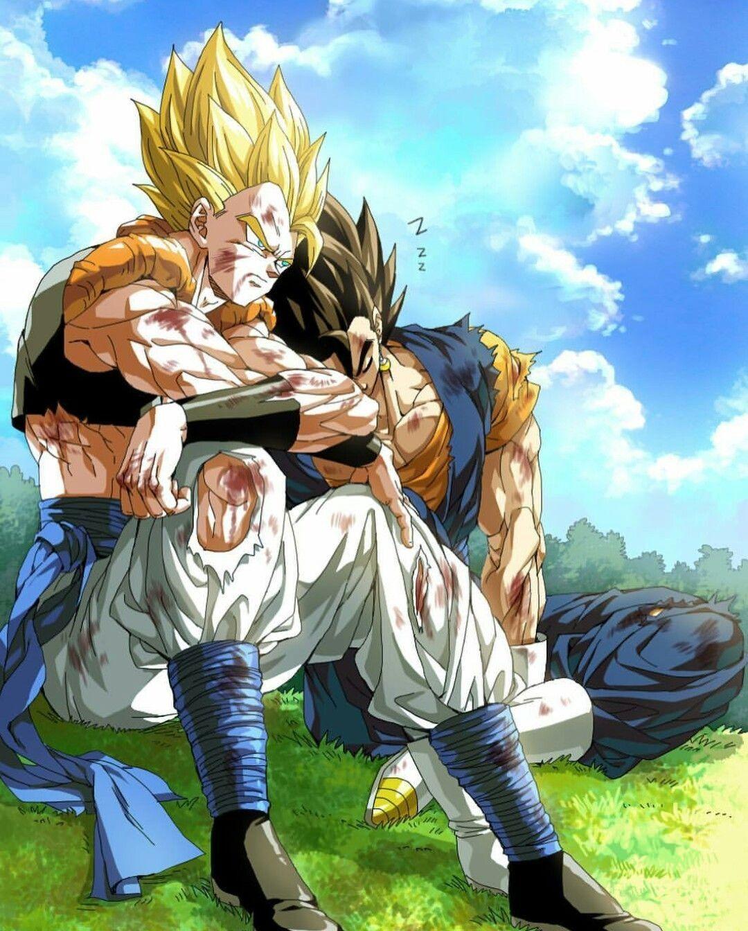 Goku Vegeta Fusion Dragon Ball Super Anime Dragon Ball Super Dragon Ball Art Dragon Ball Super Goku