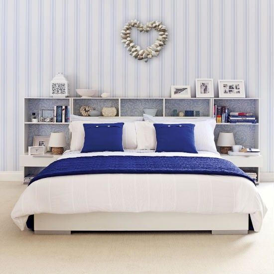 Azul Y Blanco Dormitorio Costeras Esquemas De Color Housetohome Co Uk
