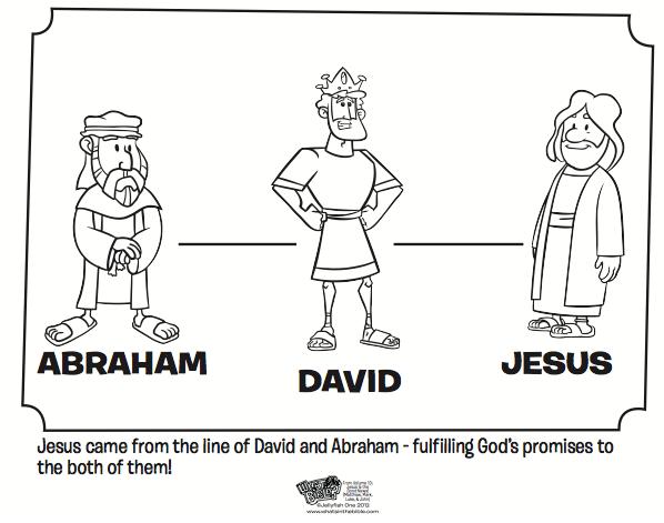 Abraham David And Jesus