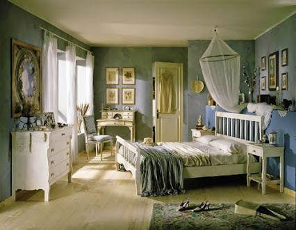 Letti Stile Shabby Chic : Camera da letto shabbychic mobili a colori arreda in stile