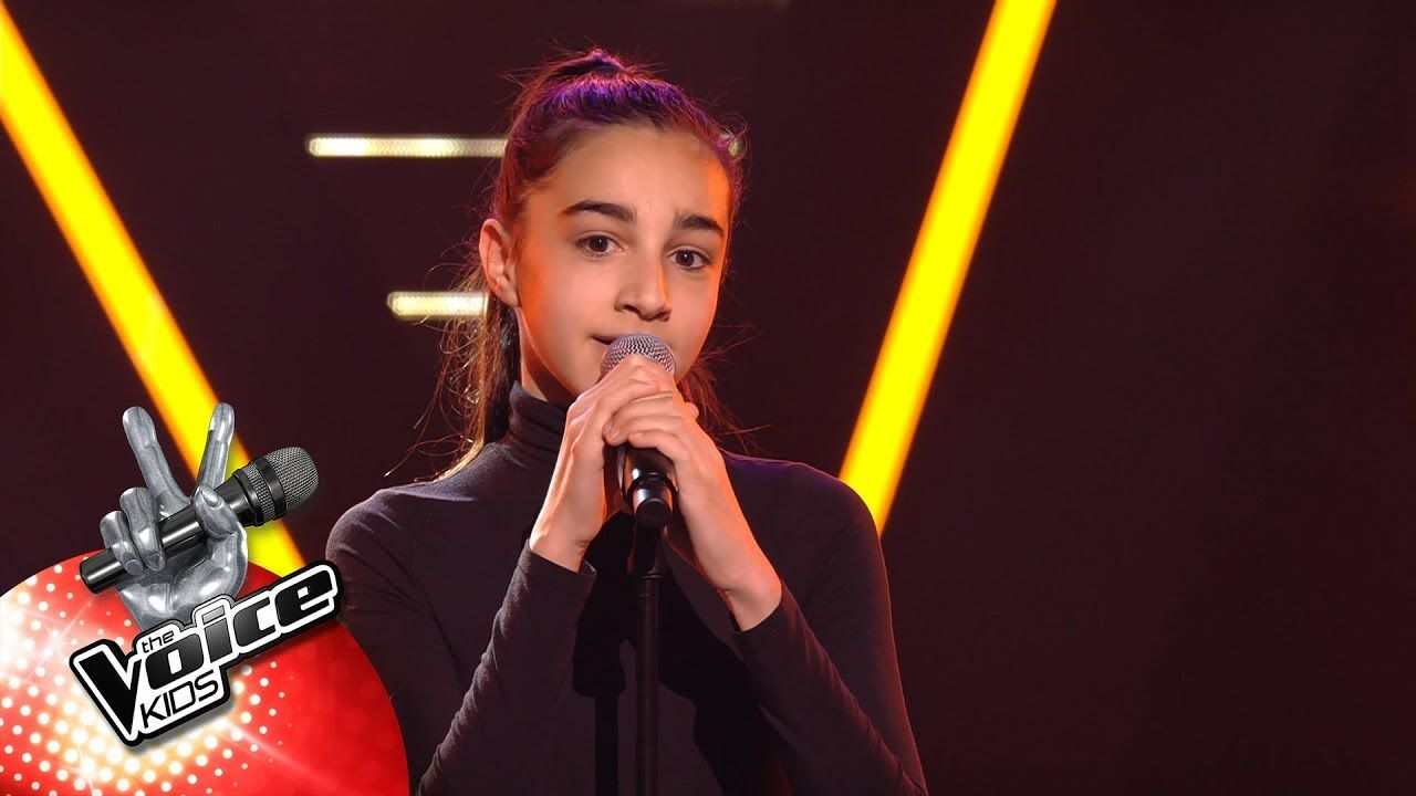 Emma - 'So This Is Love'   Blind Auditions   The Voice Kids   VTM   Musica, Natal 2018