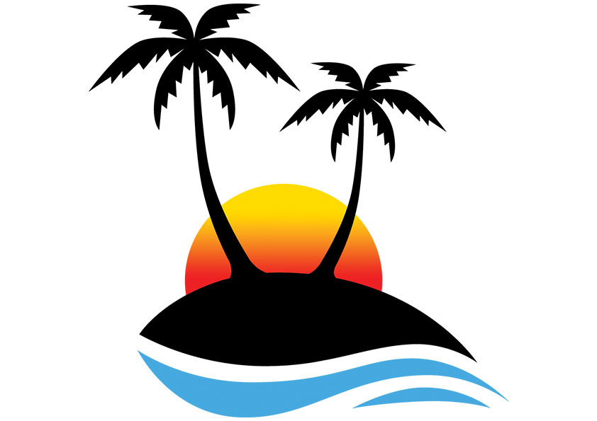 35+ Palm tree clipart images info