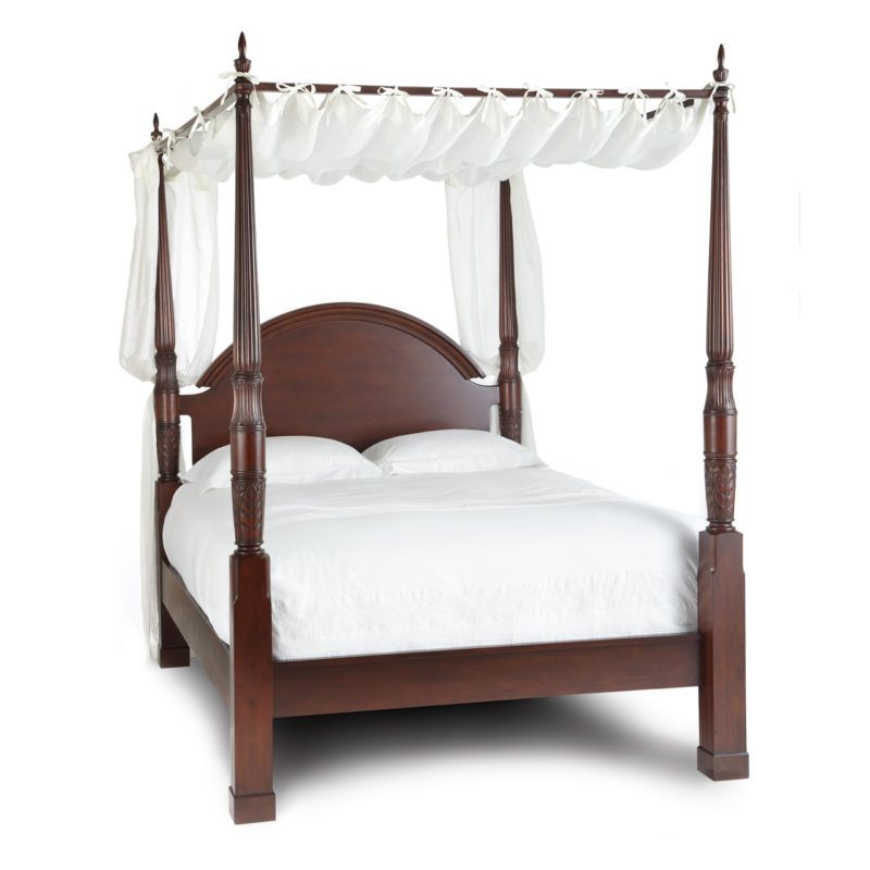 Herning 4 Poster Bed Queen With Images Queen Canopy Bed Bed
