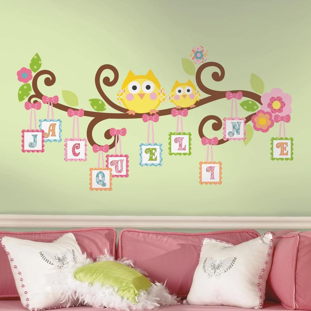 Luxury Owl Nursery Wall Decor Illustration - Wall Art Ideas ...