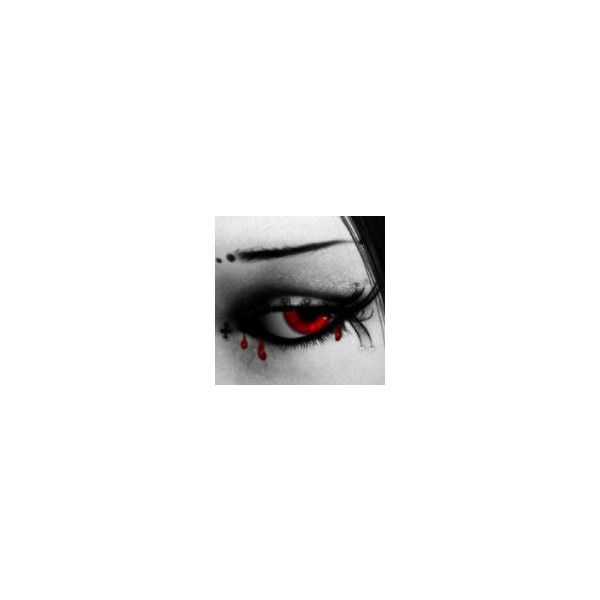 Blood image, picture by 024475 - Photobucket ❤ liked on Polyvore featuring beauty products, makeup, eye makeup, eyes, backgrounds, pictures and people