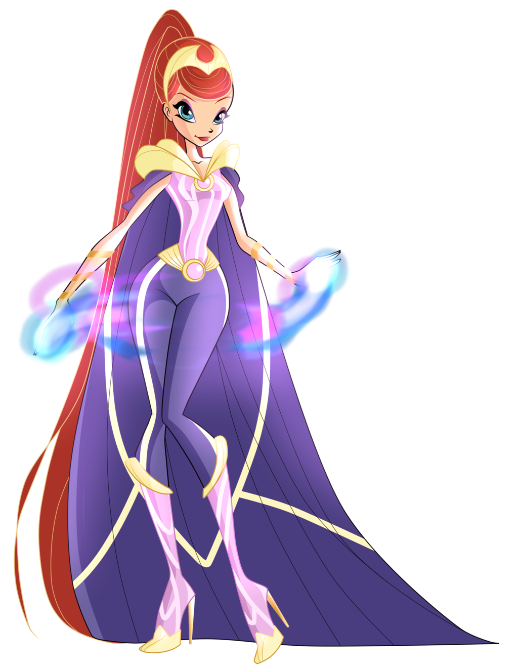 COM: Queen Bloom - Warrior by MiaEnchantedFairy.deviantart.com on ...