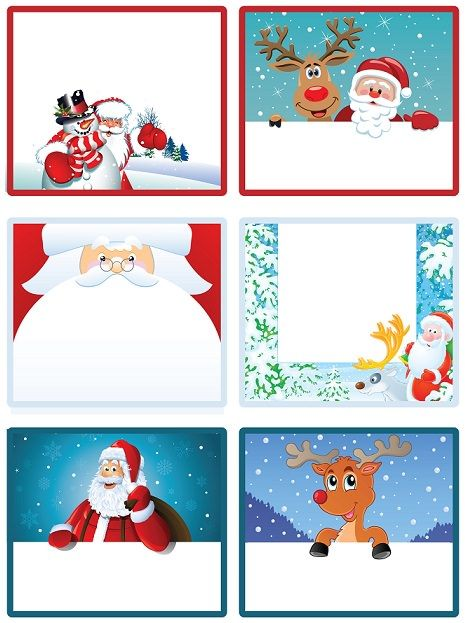 Imprime tus etiquetas de navidad gratis para los regalos for In regalo gratis