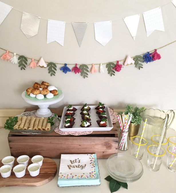Family Fiesta Giggle Living Fiesta Snack Table Cinco De Mayo Party