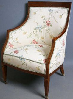 Another Edwardian Chair, Iu0027d Replace The Casters But I Love The Cleanliness  Of
