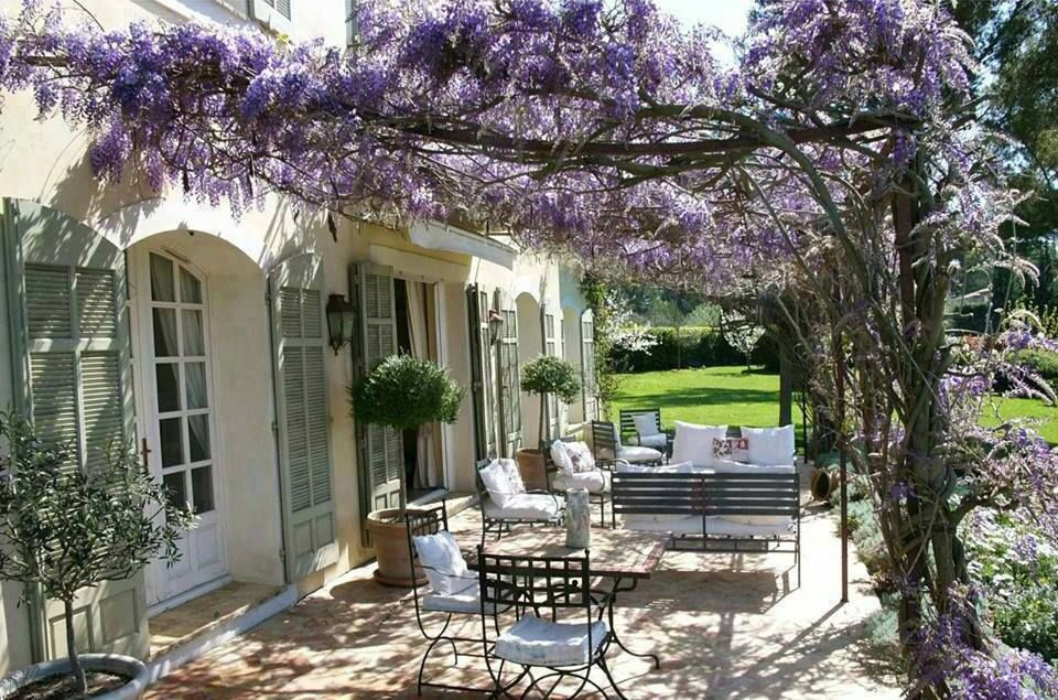Wisteria Terrace   Outdoor Spaces   Pergola, Garden Design ...