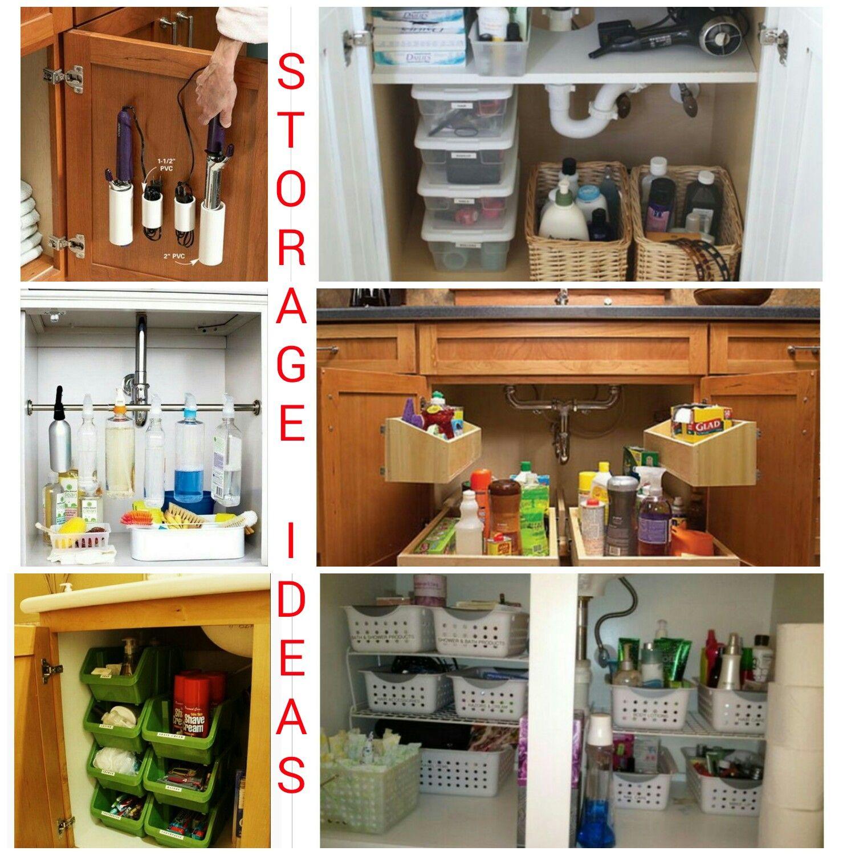 Creative Under Sink Storage Ideas 2017 Under Sink Storage Sink