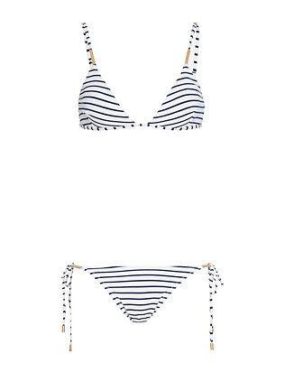 4ee5f5542e Melissa Odabash Verona Nautical Triangle Bikini Nautical Bikini