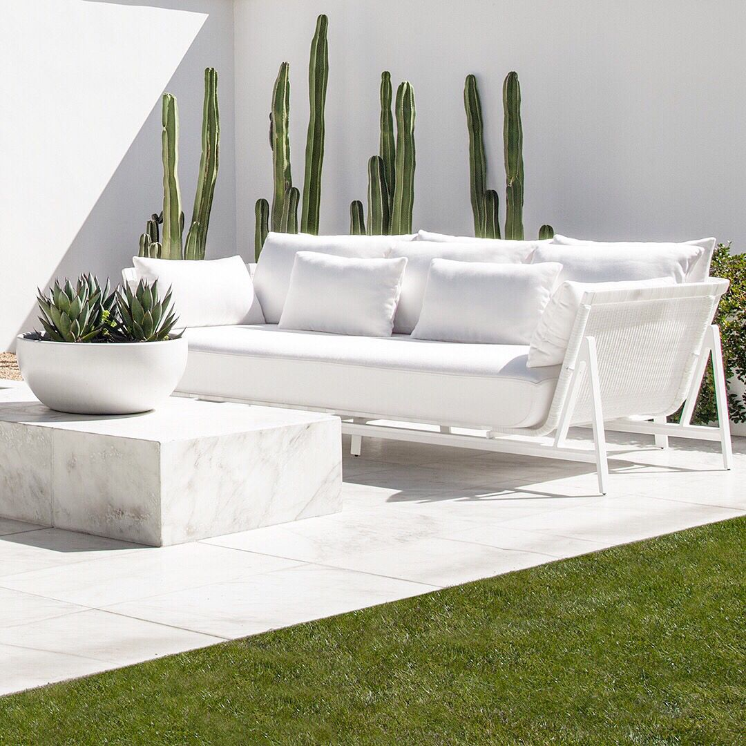 Add Style To Your Outdoor Spaces Upholstered Outdoor Furniture Outdoor Furniture Inspiration Modern Outdoor Furniture