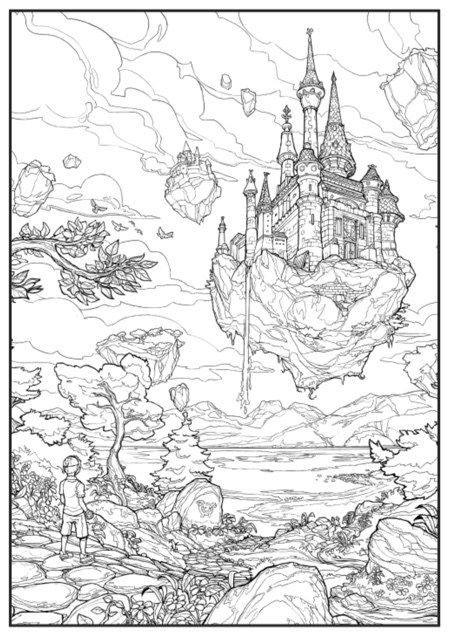 Mrsuicidesheep's Concept Art Colouring Book Coloring Pictures, Coloring  Pages, Coloring Books