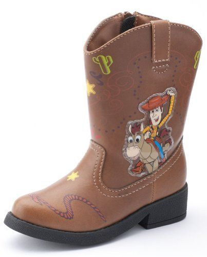 Toy Story Boots For Boys : Disney toy story light up woody cowboy boots for toddler