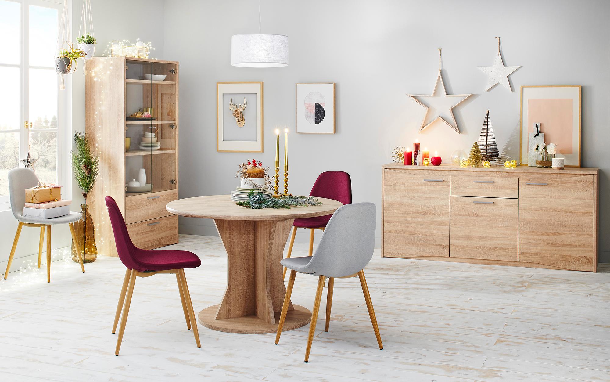 Chaise Lynette 2 Framboise Decoration Maison Mobilier De Cuisine Decoration Interieure
