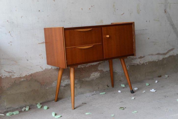 ≥ retro kastje jaren 50 60 vintage wandmeubel deens design ...