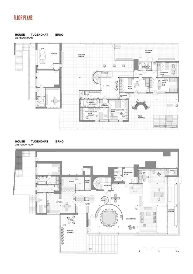 19e2505faa4d53128f18dc291f39ff64 Tugendhat House Floor Plan Diions on
