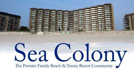 Sea Colony S And Als Bethany Beach Delaware