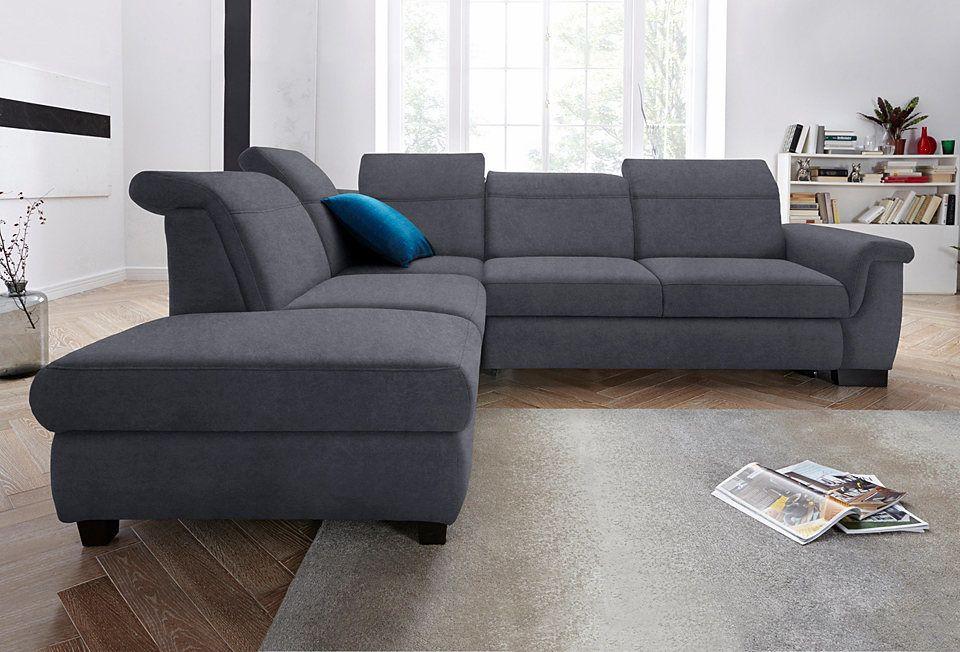 Polsterecke, wahlweise mit Bettfunktion und Rückenverstellung Jetzt - wohnzimmer sofa braun