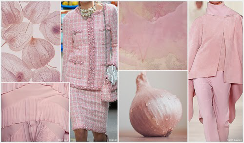 Pale Pink - #Fashion Forecast: Top Runway Colours Fall 2015 Winter 2016 #style #mode #predictions #forecasting
