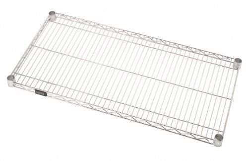 Quantum Storage Systems 1224c Extra Shelf For 12 Deep Wire Shelves Chrome Finish 12 Width X 24 Length X 1 Wire Shelving Wire Shelving Units Storage System
