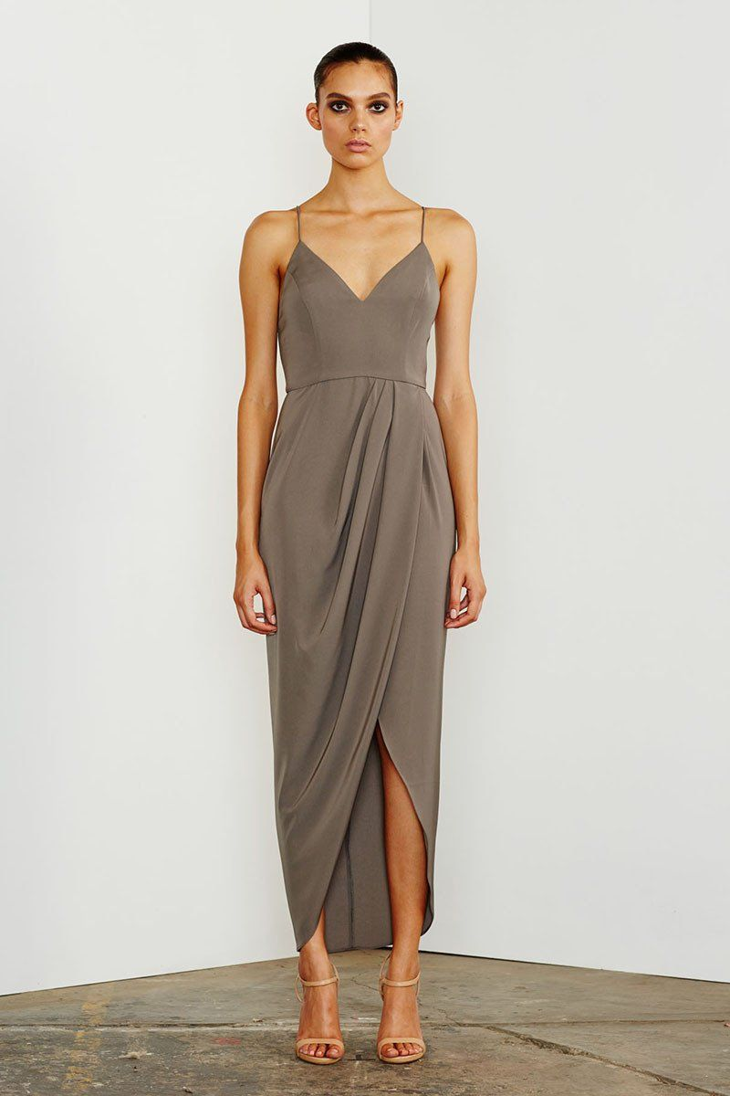 219424f007 CORE COCKTAIL DRESS - OLIVE – Shona Joy (bridesmaids)