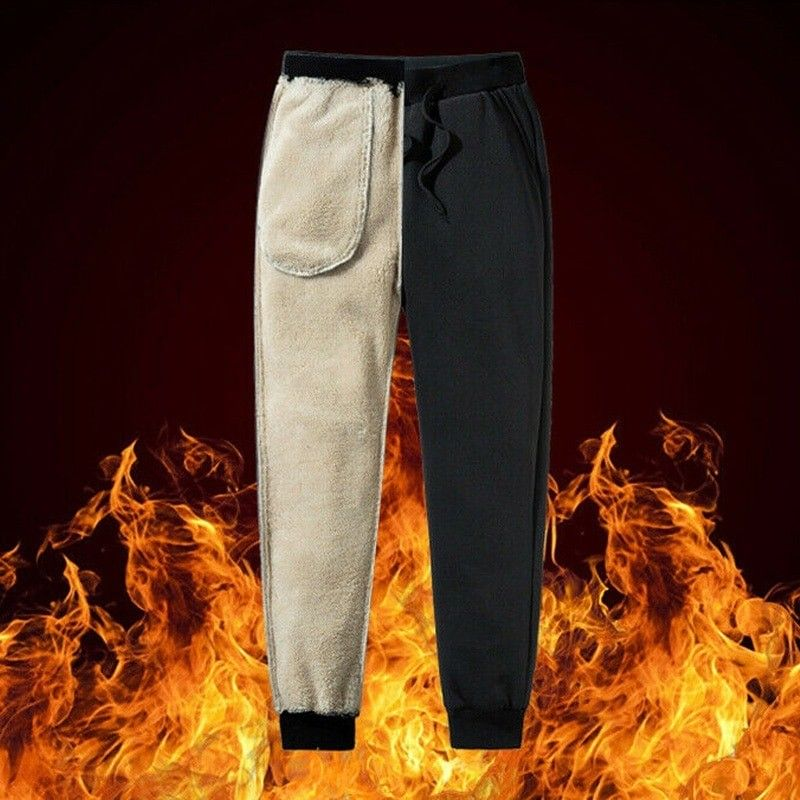Thermals Trousers Warm Casual Pants in 2020