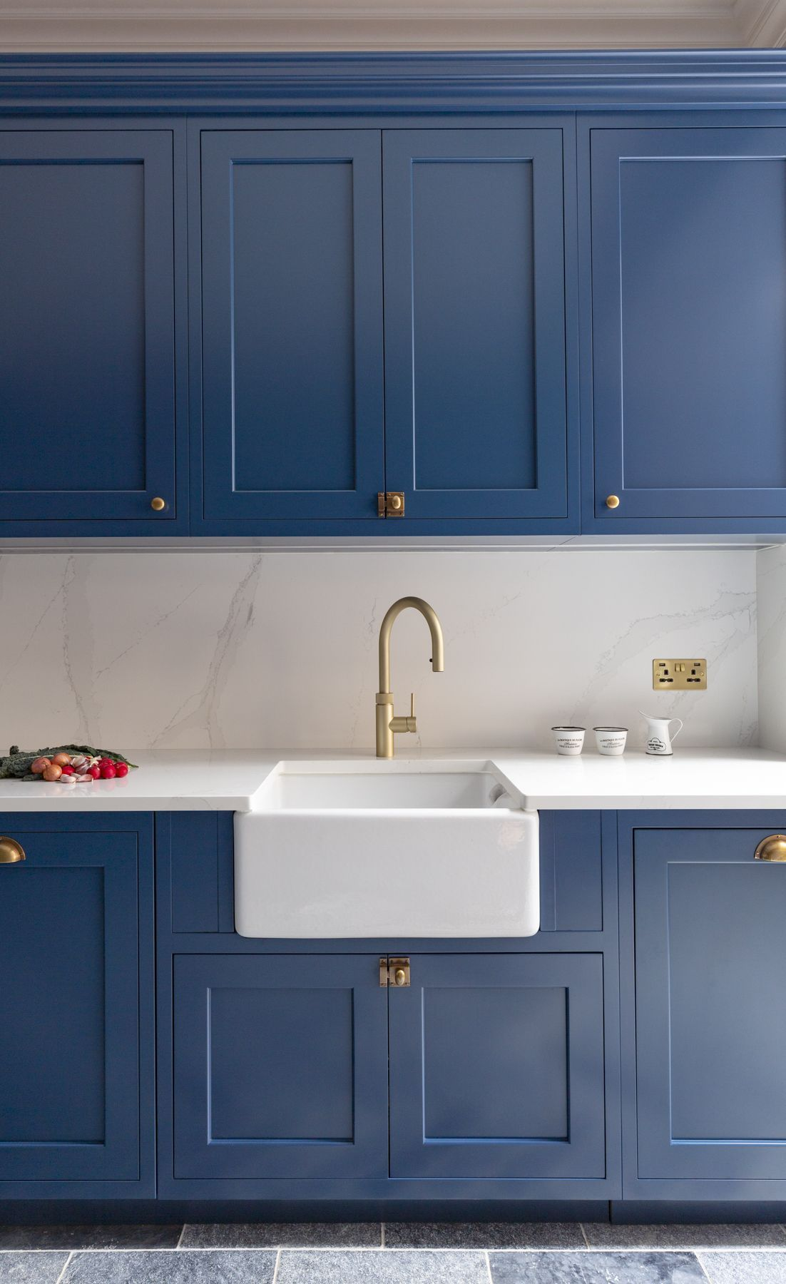 38+ Blue shaker style kitchen diy