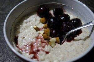 Vinderen af ISIS julekonkurrence 2013 som bedste, sunde juleopskrift. Få smagen af risalamande til morgenmad - utrolig sund og mættende udgave.