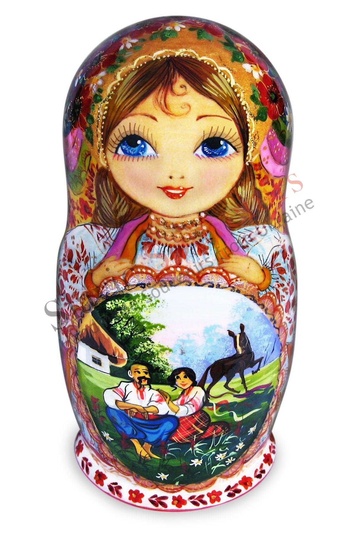 Russian Matryoshka nesting dolls (20-12). Matryoshka nesting doll....