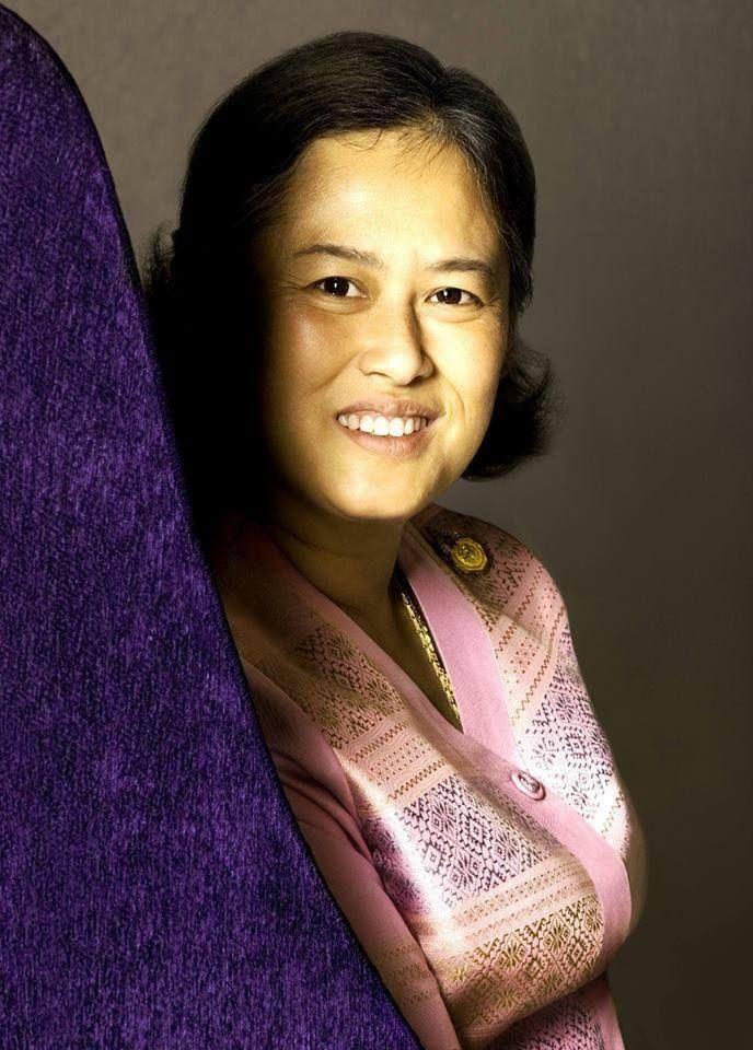 Her Royal Highness Princess Maha Chakri Sirindhorn of Thailand.