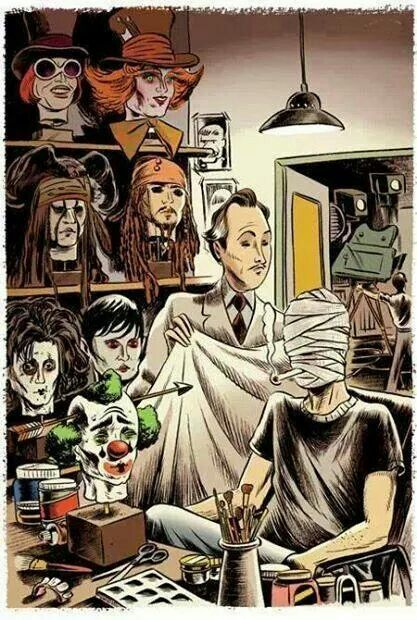 What mask today mr. Depp