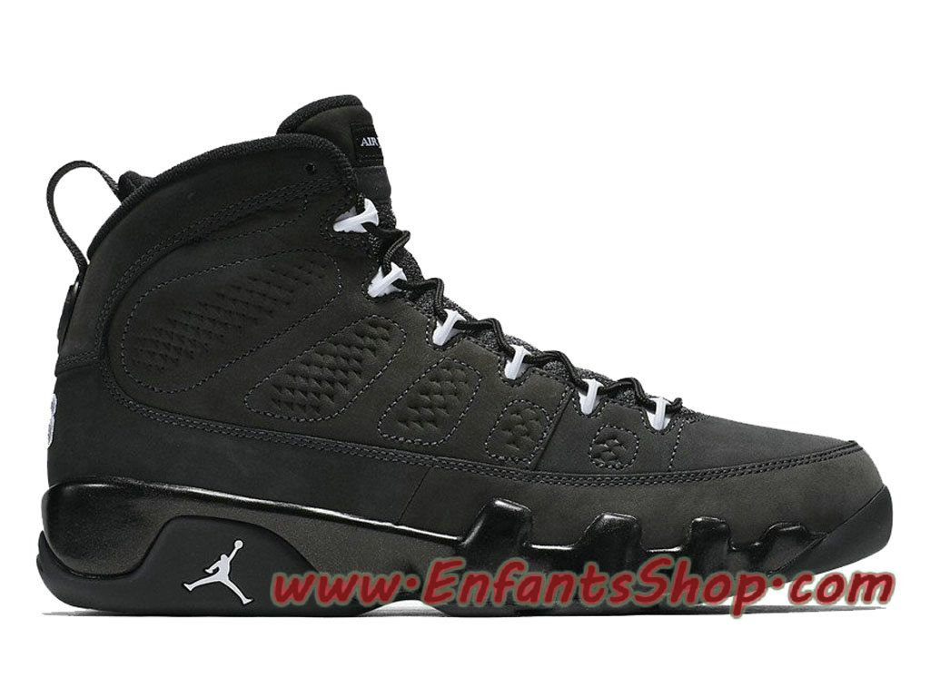 Air Jordan 9 Anthracite 302370-013 Chaussures Jordan Basket ...