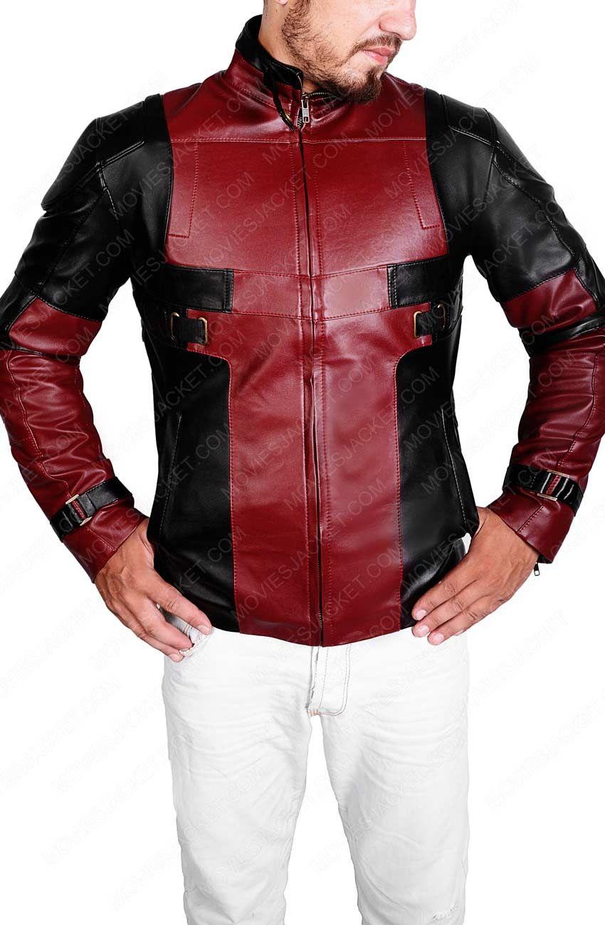 Deadpool Jacket Deadpool jacket, Jackets, Biker style