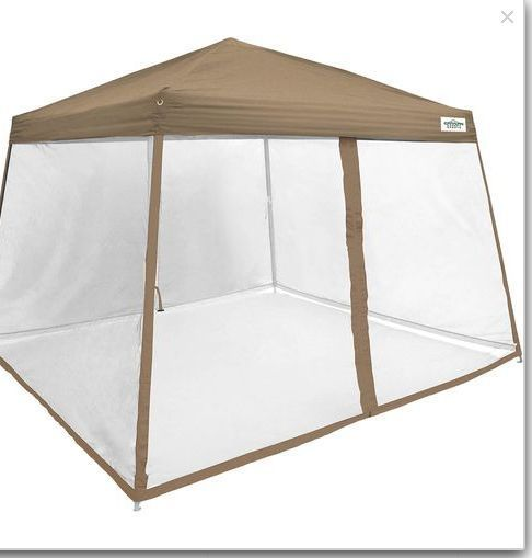 Screen House Tent 12 X 12 Pop Up Canopy Instant Shade C&ing Picnic Table  sc 1 st  Pinterest : picnic table screen tents - memphite.com