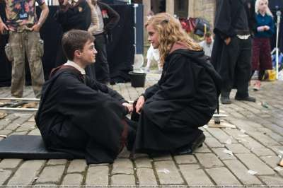 Harry Potter Photo: hp 5 set photos