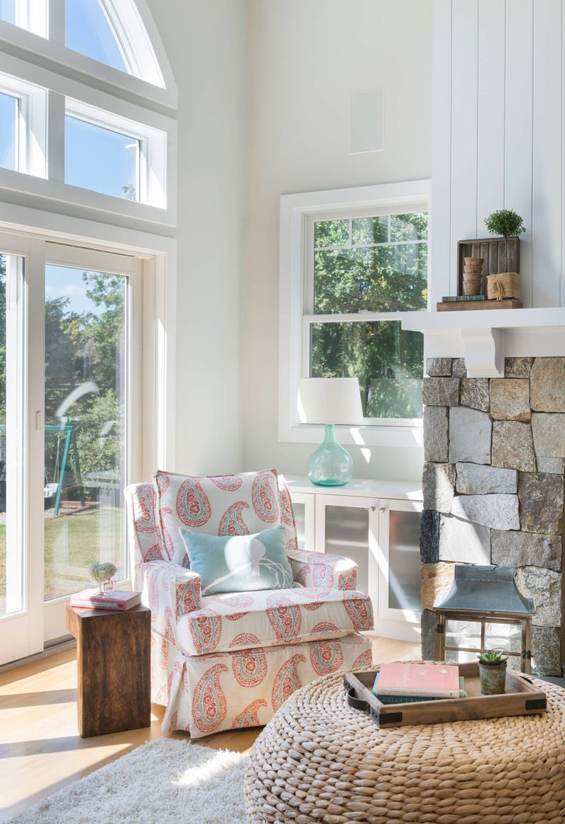 Meridian Design Build | Red houses, Reading nooks and Coastal