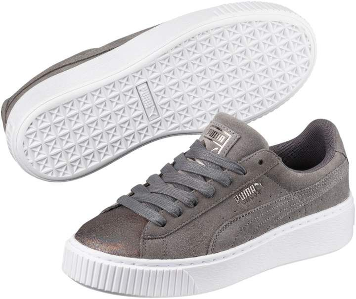 Suede Platform Lunar Lux Women's Sneakers   Sneakers, Puma