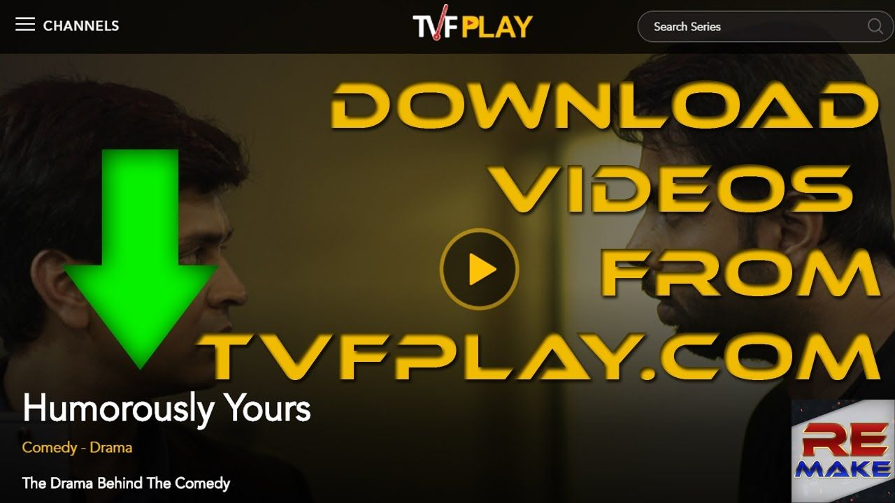 Pin by REMAKE on Download Videos from TVFPlay com or other same