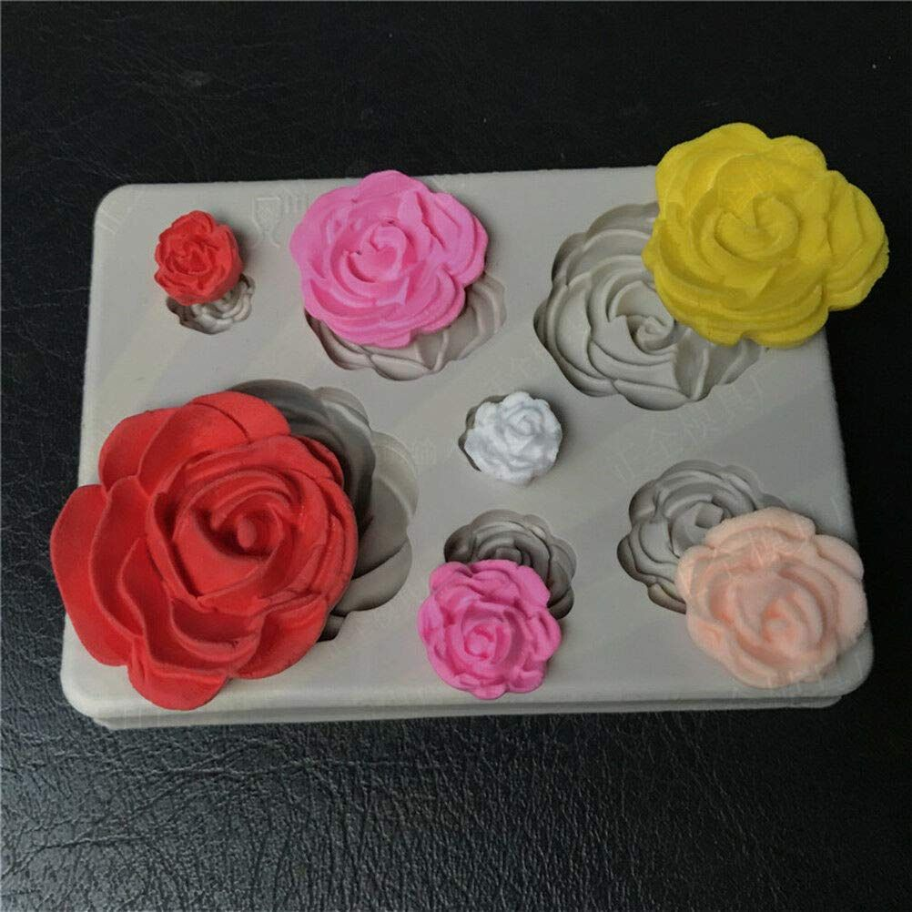 Flower Silicone Fondant Chocolate Mould In 2020 Chocolate Molds Cake Mold Cake Decorating