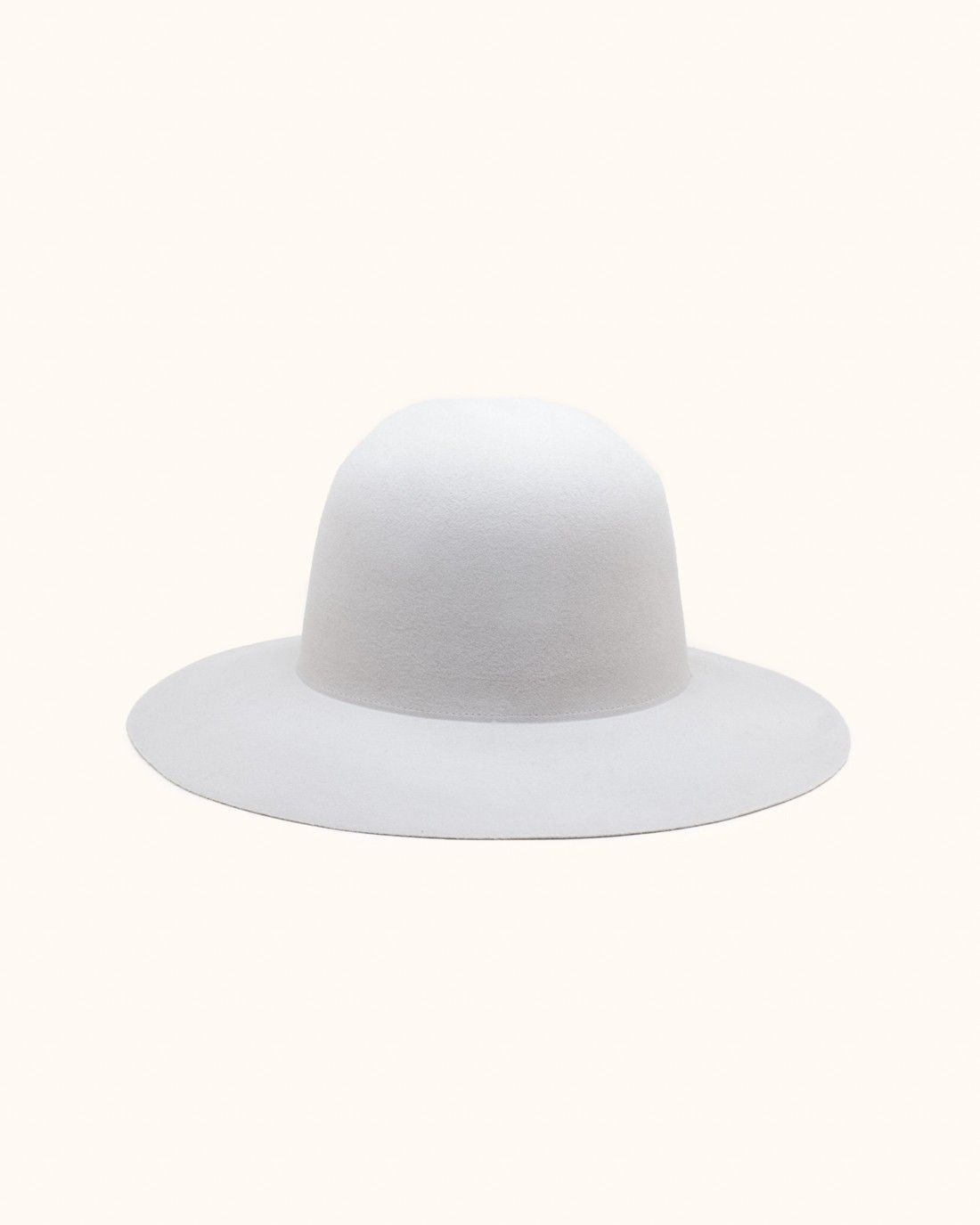 Wool-felt Hat - Sand Clyde