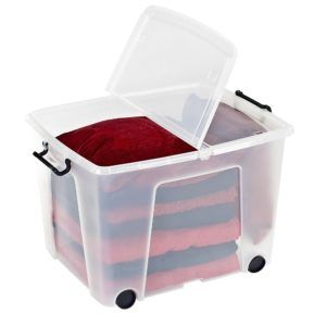 Exceptionnel Plastic Storage Boxes With Wheels
