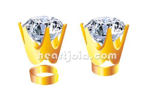 2425e8820b7 Garras em coroa para cravação de pedras
