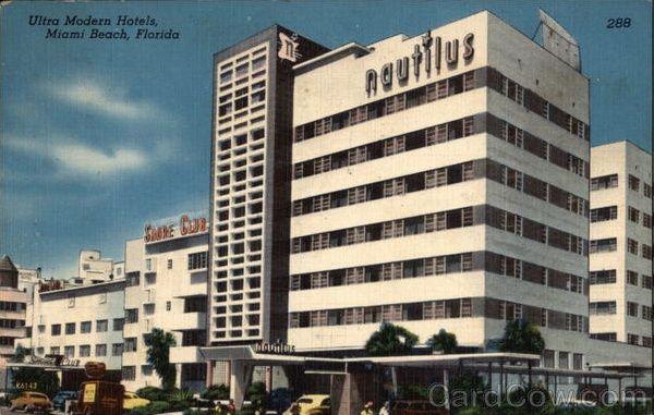 Morris Lapidus Designed The Nautilus Hotel Miami Beach