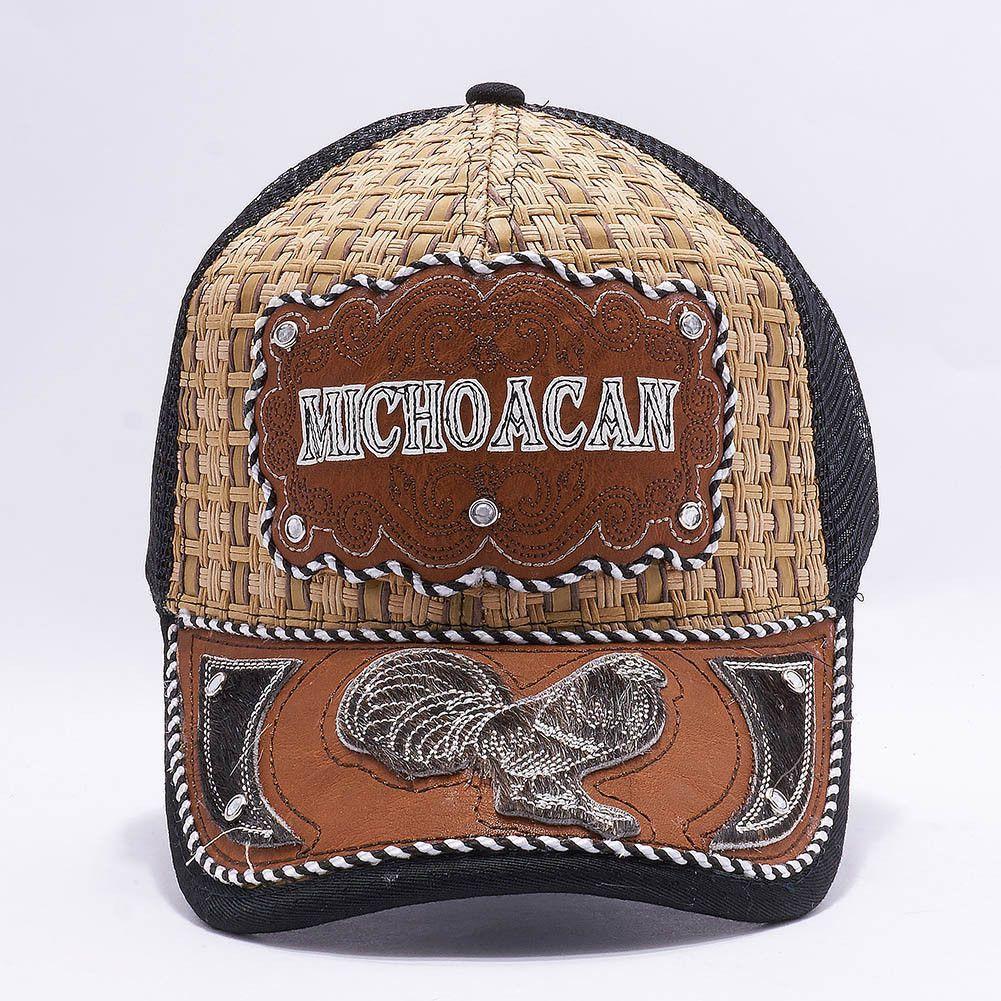 f499009a51 Gorra Charra Michoacan Western Cowboy Snapback Mesh Hat Cap Mayoreo  [MXMI-009]