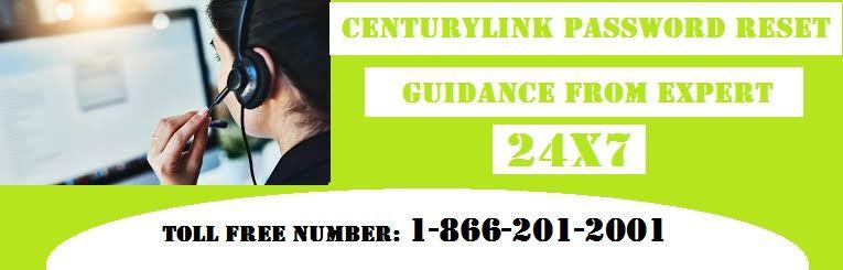 Centurylink password reset