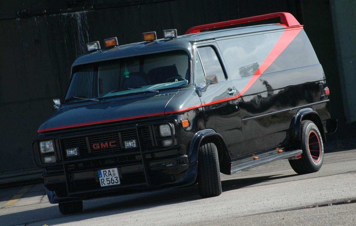 Gmc Vandura Aka A Team Van A Team Van Cars Movie Gmc Vehicles